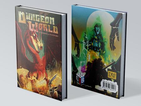 Twarda Oprawa Dungeon World: Podziemia i potwory (1)